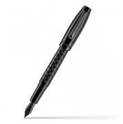 Перьевая ручка Montegrappa Fortuna Skull Black Resin Fountain pen