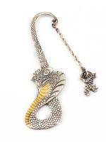 Серебреная закладка Змея