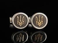 Запонки Герб Украины